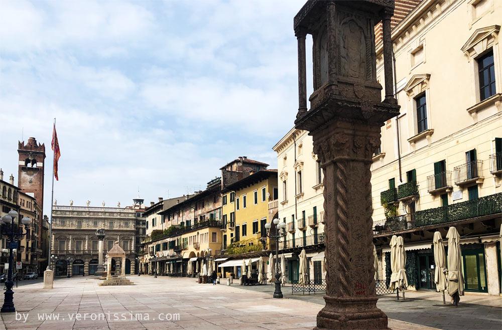 Fotografie Di Verona Immagine Di Piazza Delle Erbe