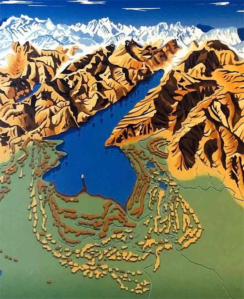 Cartina Lombardia Laghi.Lago Di Garda La Guida Completa Localita Storia Gastronomia