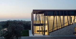 Modern architecture winery