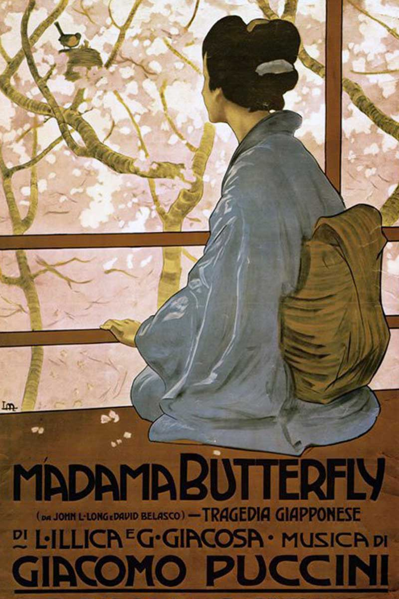 Poster of Madam Butterfly