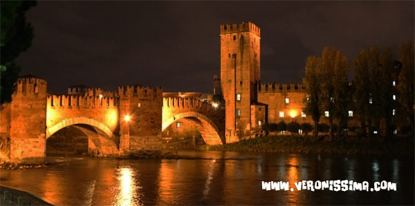 verona by night castelvecchio