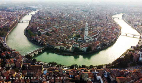 guided itineraries in verona