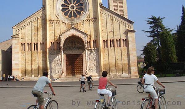 tour of verona by bike