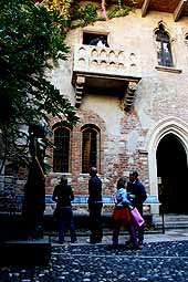 verona tourist guide: juliet's house